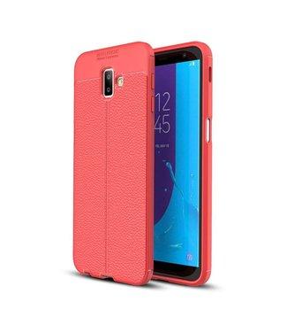 Just in Case Just in Case Soft Design TPU Samsung Galaxy J6 Plus Case (Red)