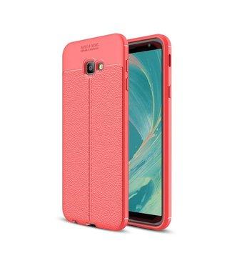Just in Case Just in Case Soft Design TPU Samsung Galaxy J4 Plus Case (Red)