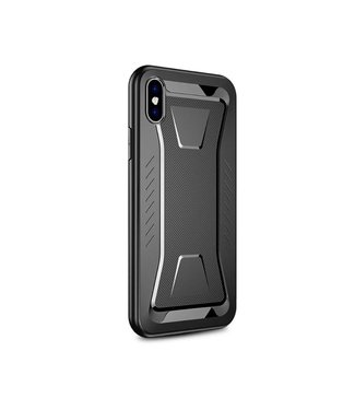 Ipaky IPAKY Phantom Rhombus Series Soft TPU Case Apple iPhone Xs / X - Black