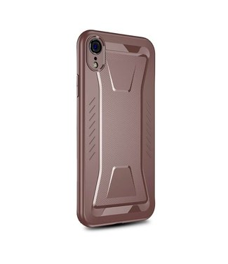 Ipaky IPAKY Phantom Rhombus Series Soft TPU Case Apple iPhone Xr - Brown