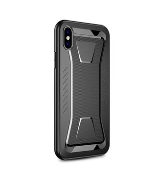 Ipaky IPAKY Phantom Rhombus Series Soft TPU Case Apple iPhone Xs Max - Black