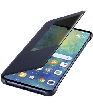 GSM Westland Huawei Mate 20 Smart View Flip Cover (Blue) - 51992605