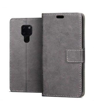 Just in Case Huawei Mate 20 Vintage Wallet Case - Grey