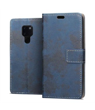 Just in Case Huawei Mate 20 Vintage Wallet Case - Blue