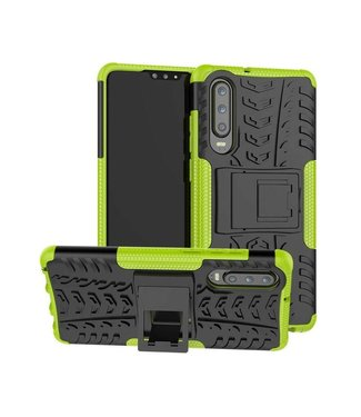 Just in Case Just in Case Rugged Hybrid Huawei P30 Case (Green)