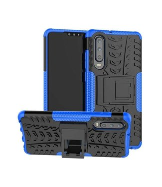 Just in Case Just in Case Rugged Hybrid Huawei P30 Case (Blue)