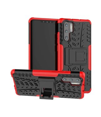 Just in Case Just in Case Rugged Hybrid Huawei P30 Pro Case (Red)