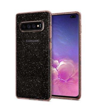 Spigen Spigen Liquid Crystal Glitter Case Samsung Galaxy S10 Plus(Rose Quartz) 606CS25763