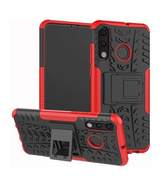 Just in Case Just in Case Rugged Hybrid Huawei P30 Lite Case (Red)