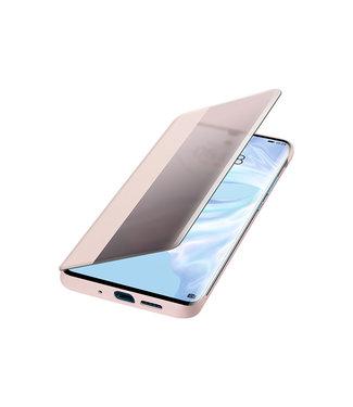 GSM Westland Huawei P30 Pro Smart View Flip Cover (Pink) - 51992884