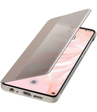 GSM Westland Huawei P30 Smart View Flip Cover (Khaki) - 51992864