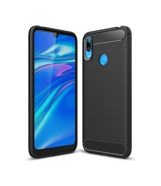 Just in Case Just in Case Rugged TPU Huawei Y7 2019 Case (Black)