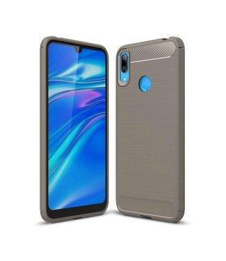Just in Case Just in Case Rugged TPU Huawei Y7 2019 Case (Grey)