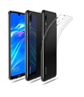 Just in Case Just in Case Huawei Y7 2019 Soft TPU case (Clear)