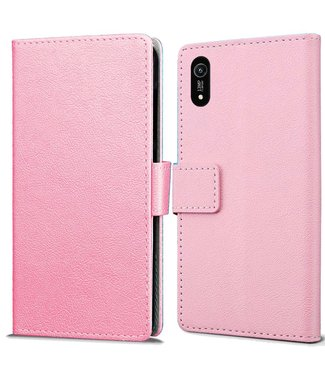 Just in Case Just in Case Huawei Y6 2019 Wallet Case (Pink)