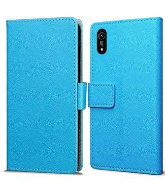 Just in Case Just in Case Huawei Y6 2019 Wallet Case (Blue)