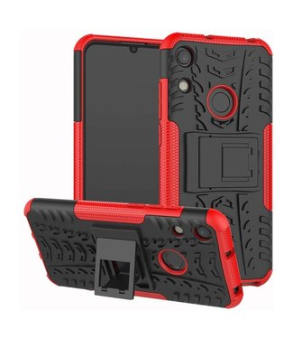 Just in Case Just in Case Rugged Hybrid Huawei Y6 2019 Case (Red)