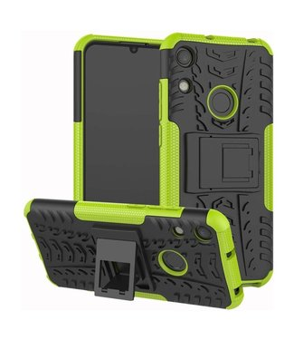 Just in Case Just in Case Rugged Hybrid Huawei Y6 2019 Case (Green)