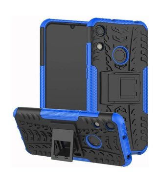 Just in Case Just in Case Rugged Hybrid Huawei Y6 2019 Case (Blue)