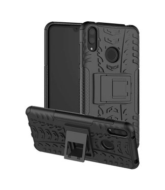 Just in Case Just in Case Rugged Hybrid Huawei Y7 2019 Case (Black)