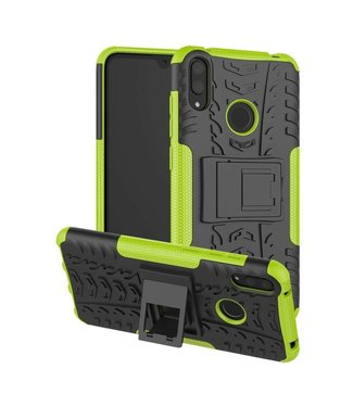 Just in Case Just in Case Rugged Hybrid Huawei Y7 2019 Case (Green)