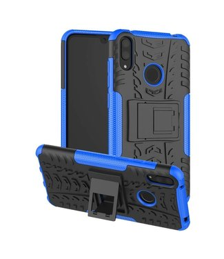 Just in Case Just in Case Rugged Hybrid Huawei Y7 2019 Case (Blue)