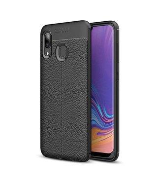 Just in Case Just in Case Soft Design TPU Samsung Galaxy A40 Case (Black)