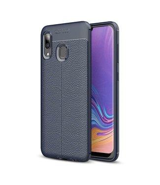 Just in Case Just in Case Soft Design TPU Samsung Galaxy A40 Case (Blue)