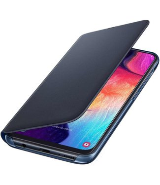 GSM Westland Samsung Galaxy A50 Wallet Cover (Black)