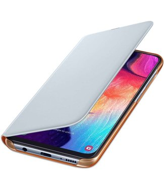 GSM Westland Samsung Galaxy A50 Wallet Cover (White) -