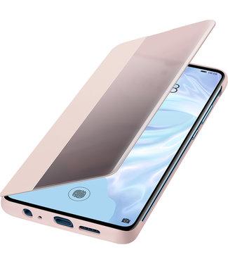 GSM Westland Huawei P30 Smart View Flip Cover (Pink) - 51992862