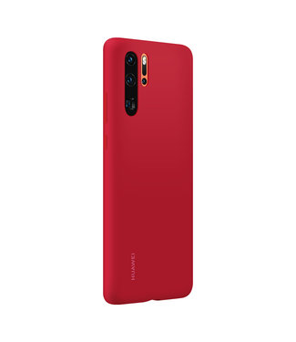 GSM Westland Huawei P30 Pro Silicon Protective Case (Red) - 51992876