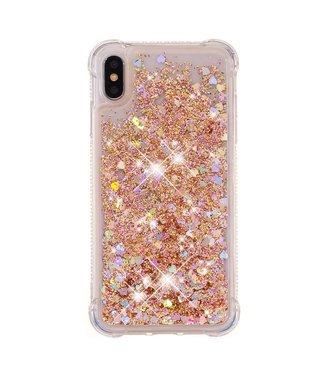 Just in Case Just in Case Apple iPhone XS Max Glitter Soft TPU case (Gold)