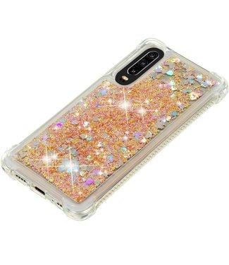 Just in Case Just in Case Huawei P30 Glitter Soft TPU case (Gold)