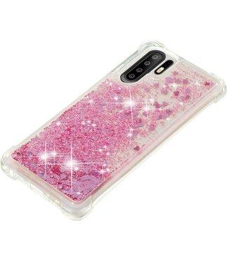 Just in Case Just in Case Huawei P30 Pro Glitter Soft TPU case (Red)