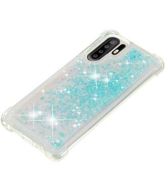 Just in Case Just in Case Huawei P30 Pro Glitter Soft TPU case (Cyan)