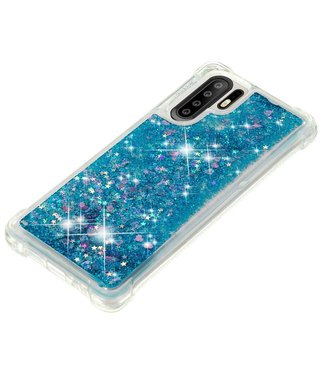 Just in Case Just in Case Huawei P30 Pro Glitter Soft TPU case (Blue)