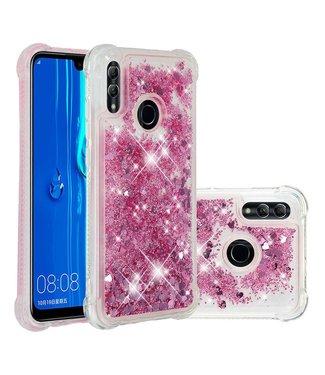 Just in Case Just in Case Huawei P Smart 2019 Glitter Soft TPU case (Red)