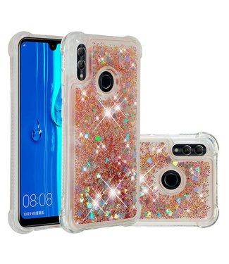 Just in Case Just in Case Huawei P Smart 2019 Glitter Soft TPU case (Gold)