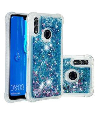 Just in Case Just in Case Huawei P Smart 2019 Glitter Soft TPU case (Blue)