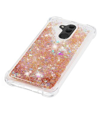 Just in Case Just in Case Huawei Mate 20 Lite Glitter Soft TPU case (Gold)