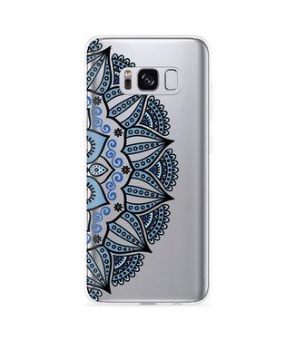 Just in Case Galaxy S8 Hoesje Turqoise Mandala