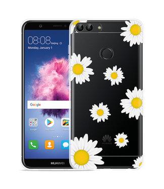 Just in Case Huawei P Smart Hoesje Madeliefjes
