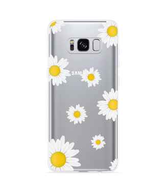 Just in Case Galaxy S8 Hoesje Madeliefjes
