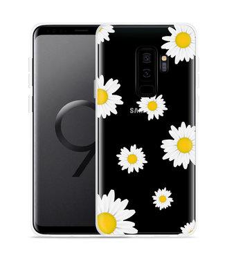 Just in Case Galaxy S9 Plus Hoesje Madeliefjes