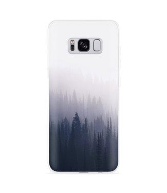 Just in Case Galaxy S8 Hoesje Dark Forest