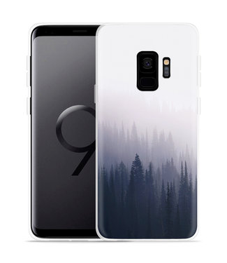 Just in Case Galaxy S9 Hoesje Dark Forest