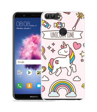 Just in Case Huawei P Smart Hoesje Unicorn Time