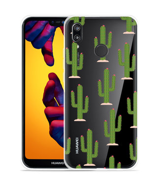 Just in Case Huawei P20 Lite Hoesje Cactus