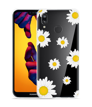 Just in Case Huawei P20 Lite Hoesje Madeliefjes
